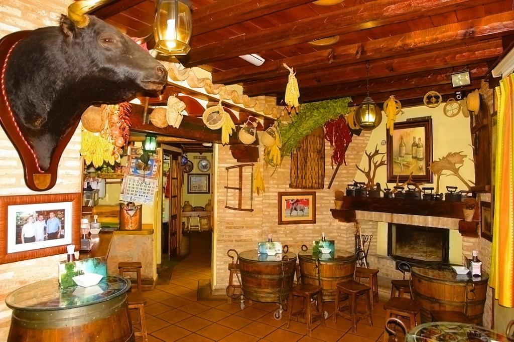 Casa rural el capricho del valle casa rural con encanto for Restaurantes con piscina en la sierra de madrid